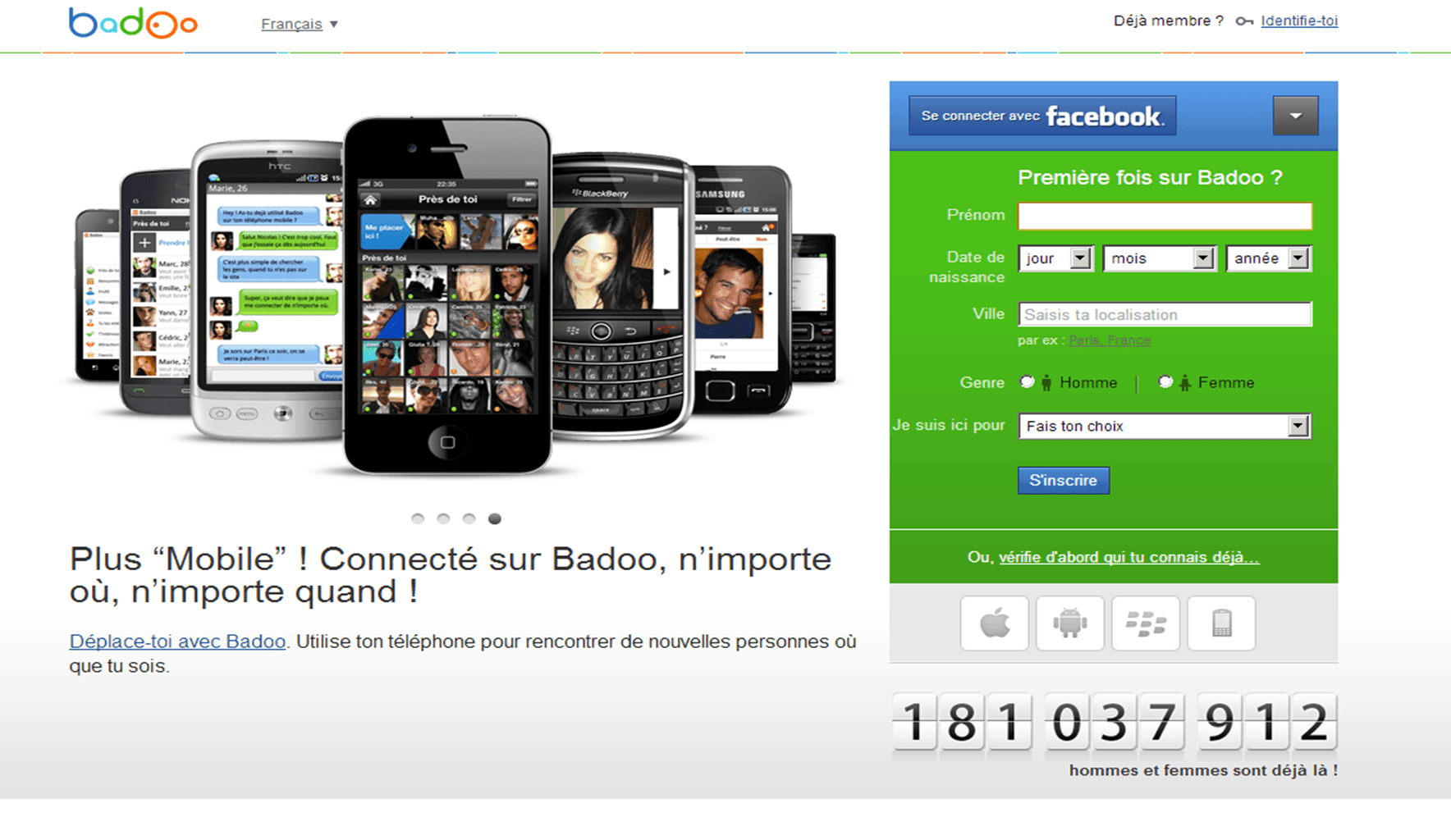 Site de rencontre badoo test