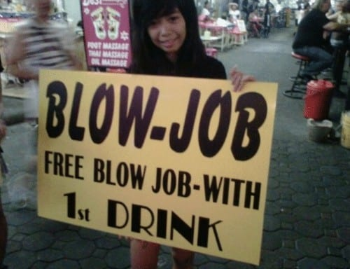 blowjob bar bangkok pataya