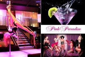 pink paradise strip tease paris