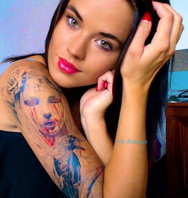 victoria alouqua tatouages