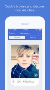 okcupid application iphone