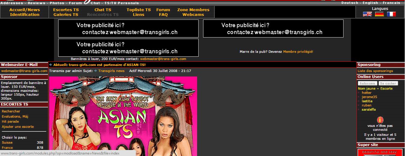 porno amateur français trans vivastreet