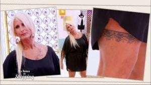 annie reines du shopping cougar tatouage