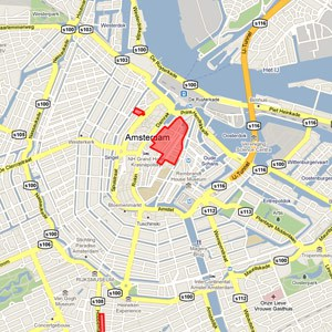 quartier rouge amsterdam plan