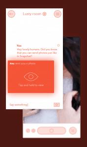 3nder s'inspire des meilleures applications et notamment de snapchat pour l'échange de photos coquines.