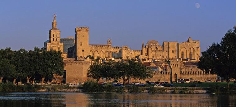 plan cul be Avignon