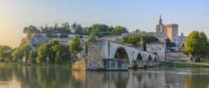 Le fameux pont d'Avignon