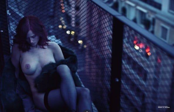 Audrey Fleurot topless Lui magazine