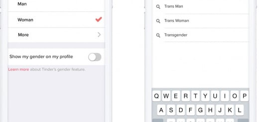 tinder ouvert aux transgenres