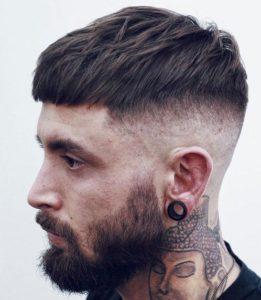 crop hair
