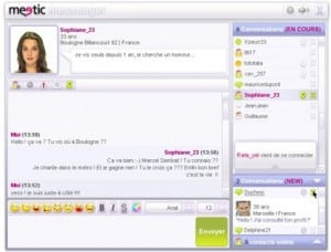 meetic messenger chat
