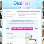 DialFlirt, le nouveau site de rencontres coquines