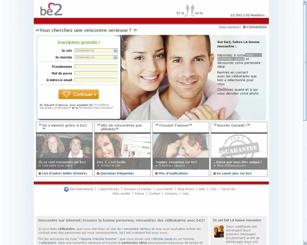 Be2.fr : le site pour ceux qui cherchent une seconde chance