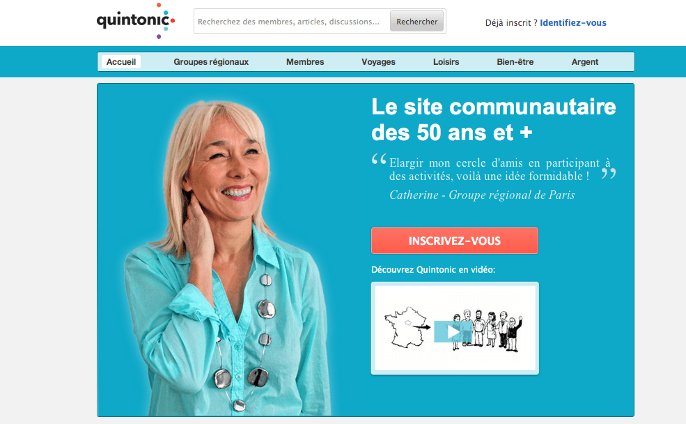Site rencontre senior paris