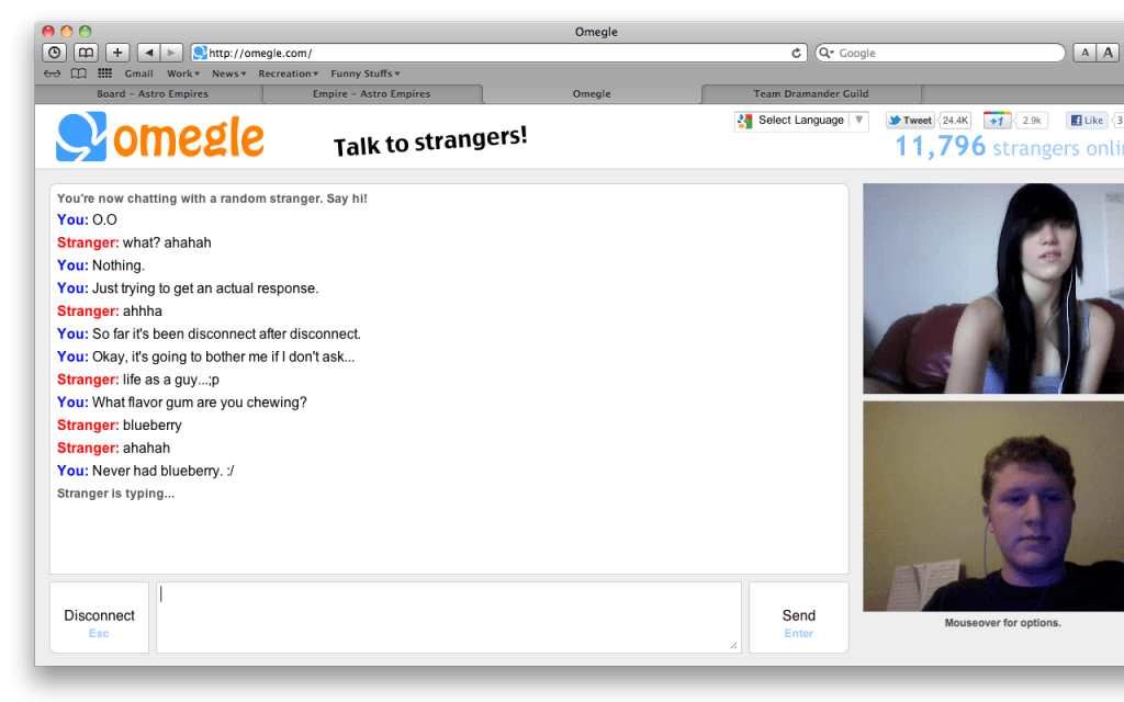 omegle sexcam draguer