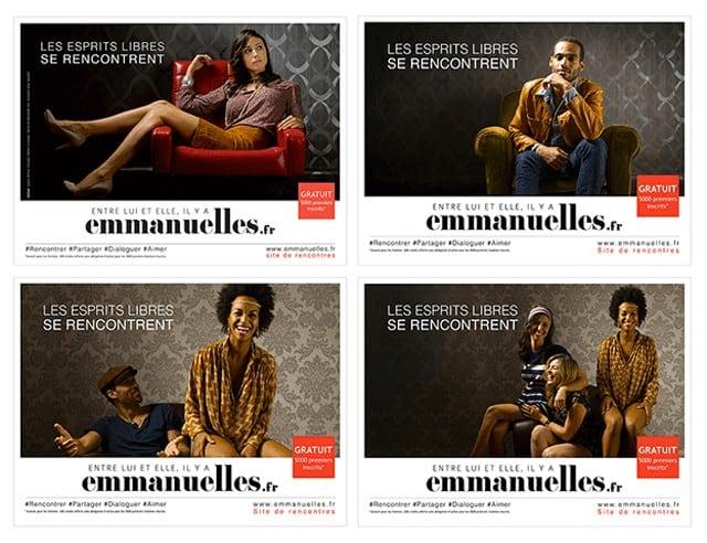 Communication de lancement de emmanuelles.fr