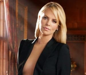 femme lion charlize theron