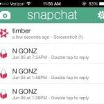 draguer sur snapchat screenshot