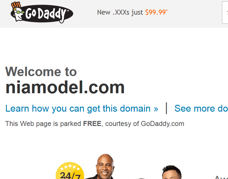 Niamodel : Le site d'escort girl est de retour