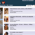 Lovesita : Escort girl et annonces libertines