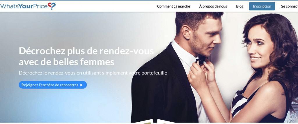 Whatsyourprice.com : Payez pour des rendez-vous
