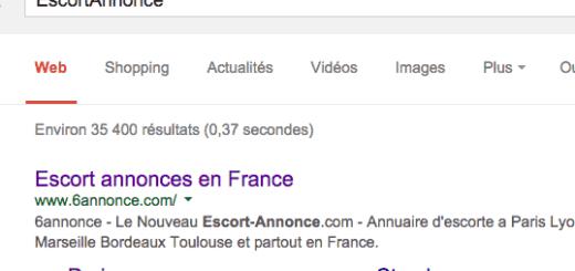 Une recherche google permet de voir que 6annonce est le nouveau escortannonce