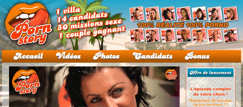 Porn Story – La télé réalité porno