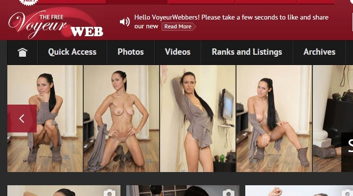 VoyeurWeb : La référence du voyeurisme depuis 1997