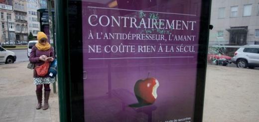 publicité gleeden censurées dans les Yvelines