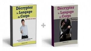 2 ouvrages de référence portant sur le langage du corps amoureux.
