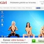 Virtuagirl - votre économiseur d'écran sexy