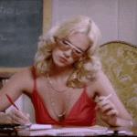 Hommage à Brigitte Lahaie en gif et photos sexy