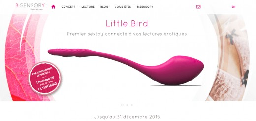 little bird b sensory sextoy connecte