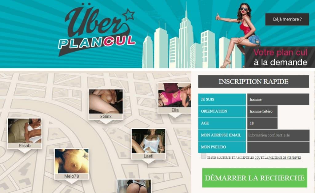 Uber Plan Cul ; le nouveau site de plan cul géolocalisé