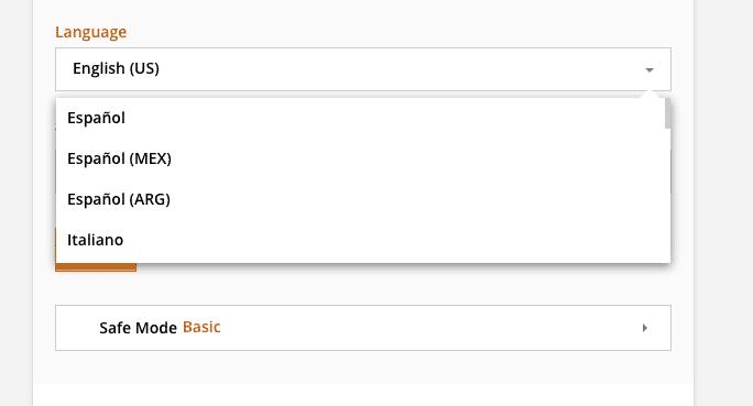 Le site BeCoquin.fr est indisponible en Français.