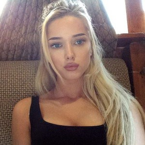 russe blonde et sexy