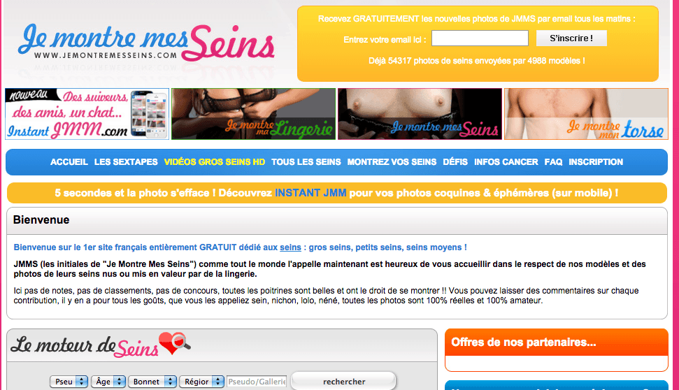 JMMS :  Découvrez le fantastique site JeMontreMesSeins
