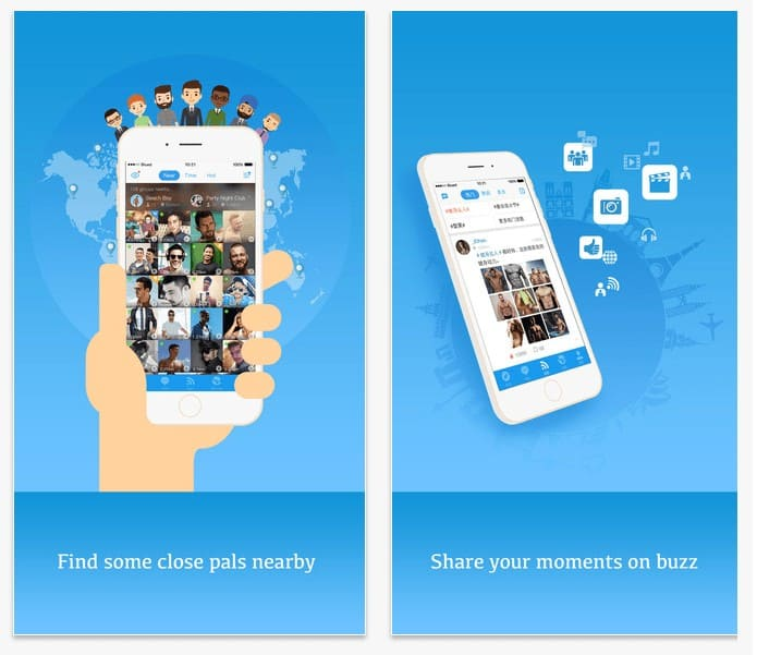 L'application Gay Blued se lance en France