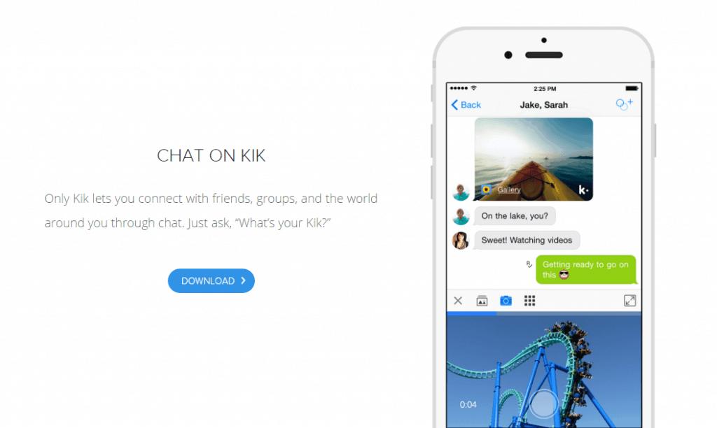 Kik – la messagerie anonyme qui pose problème