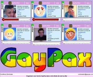 Quand on vous disait que GayPax était vraiment laid...