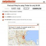 L'application Swypebuster informe votre femme que vous utilisez Tinder