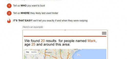 SwypeBuster cherche les utilisateurs de Tinder en se basant sur leurs prénoms, âges et localisation