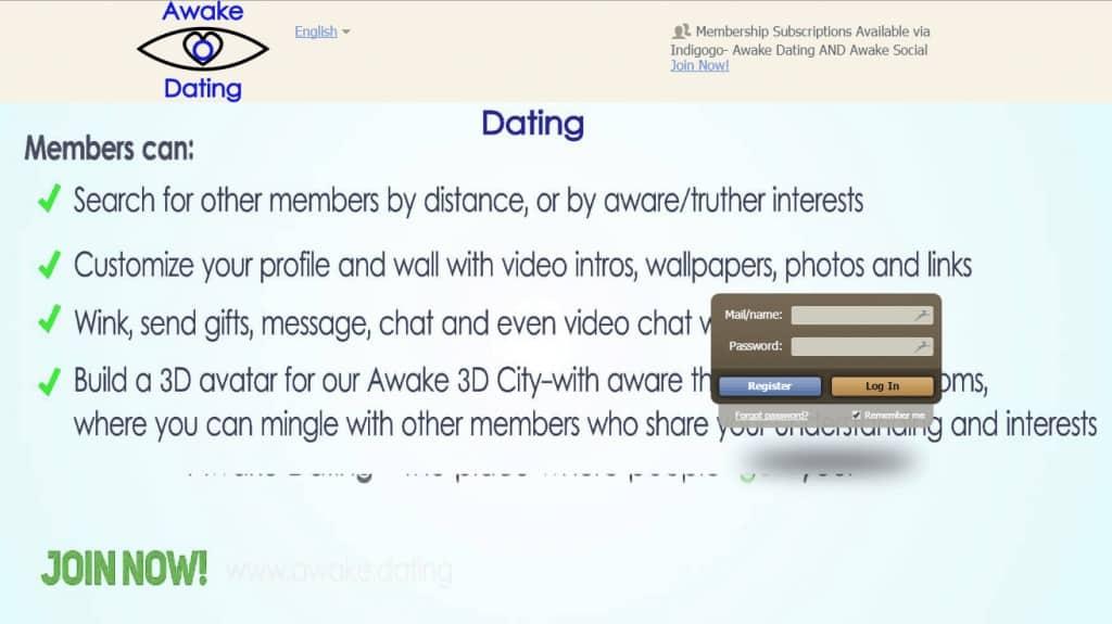 Awake Dating, le premier site de rencontre pour conspirationniste