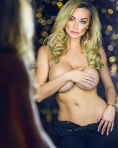 lindsey pelas shy topless