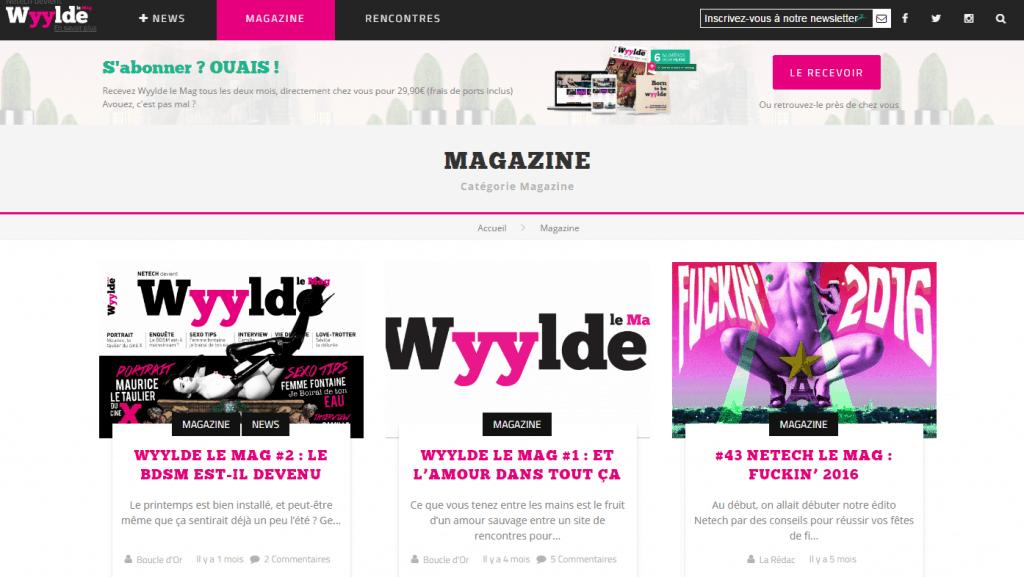 Wyylde – Le réseau social de la communauté libertine