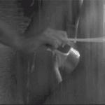 2 lesbiennes sous la douche en gif érotique