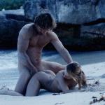 Gif de sexe sur la plage