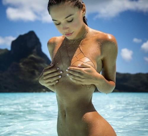 sexy beach handbra