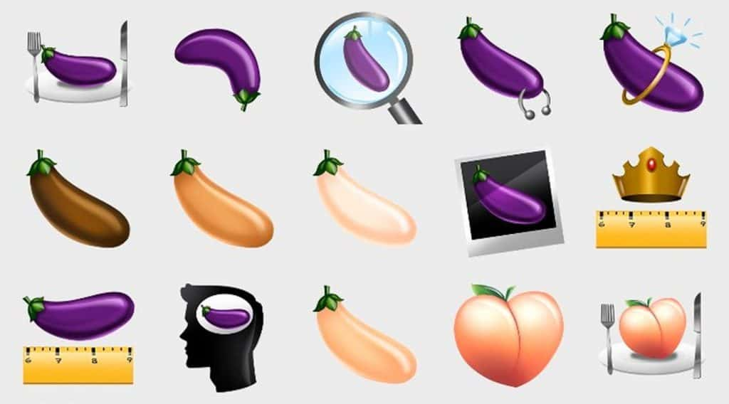 La signification secrète des emoji grindr