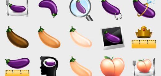 emoji grindr aubergine